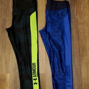 Under Armor workout capris
